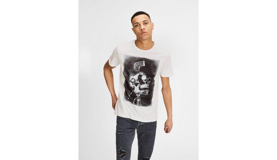 Verkauf Authentisch Billige Versorgung Jack & Jones Rock 'n' Roll Print T-Shirt Günstig Kaufen 2018 Neue Spielraum Beste Geschäft Zu Bekommen qRp8I3
