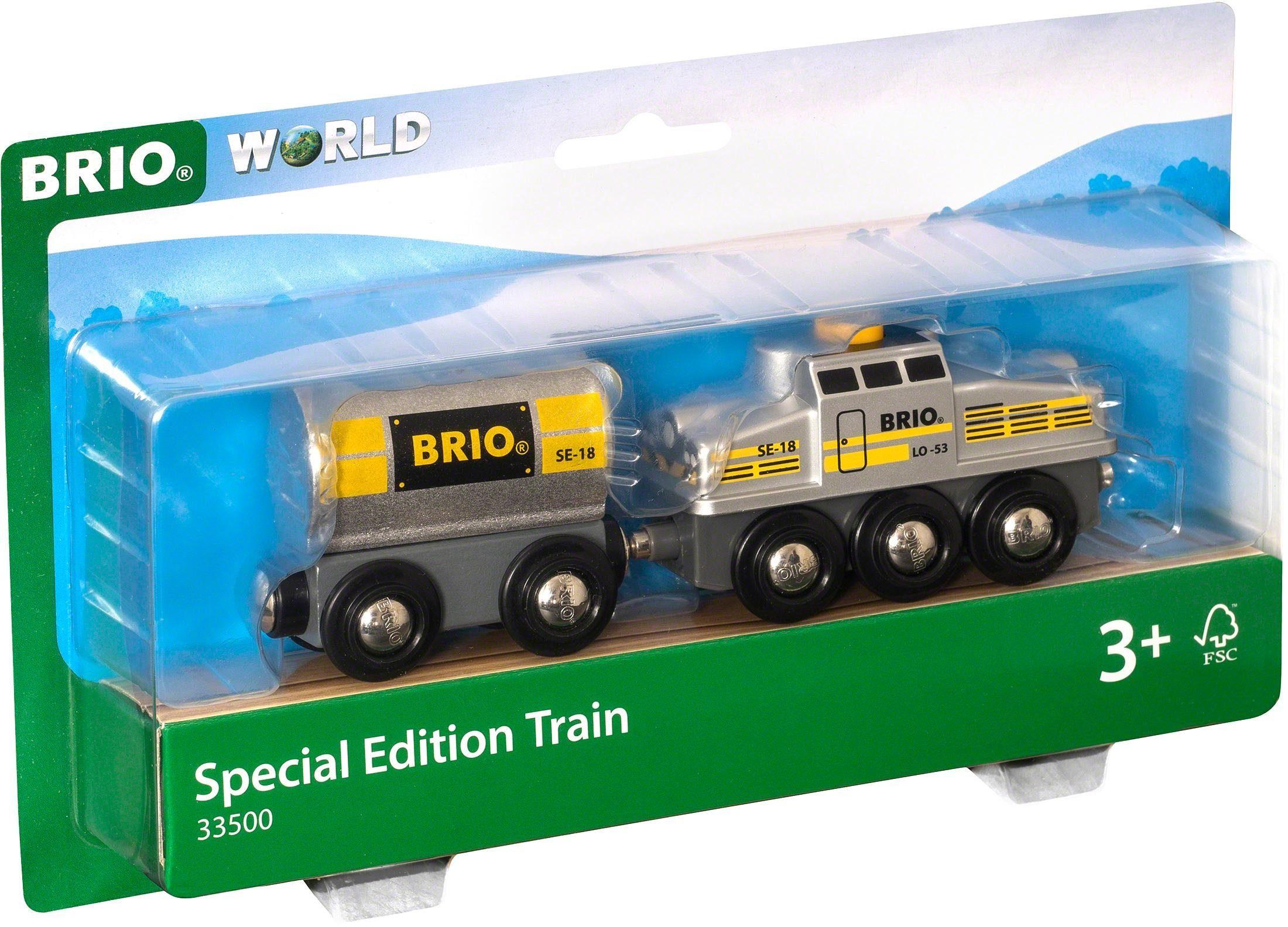 Brio Eisenbahn, »BRIO® WORLD Silberner Frachtzug - Sonderedition 2018«