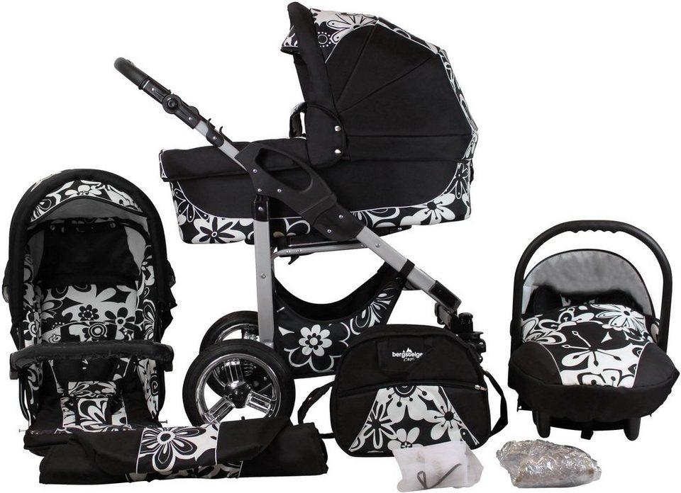 bergsteiger kombi kinderwagen 10 tlg capri white. Black Bedroom Furniture Sets. Home Design Ideas
