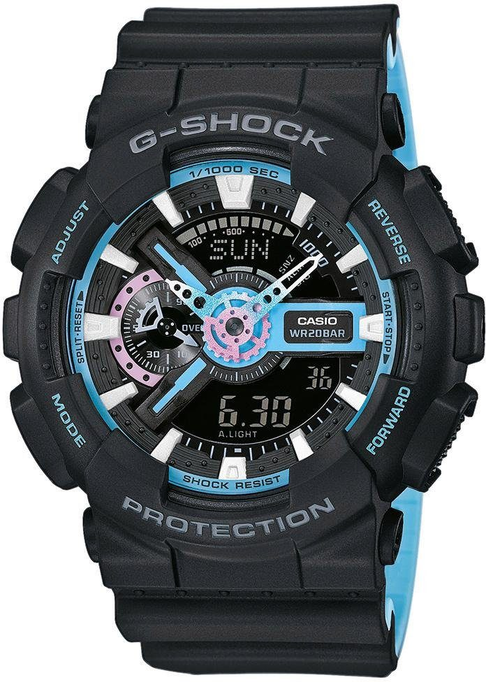 CASIO G-SHOCK Chronograph »GA-110PC-1AER« antimagnetisch