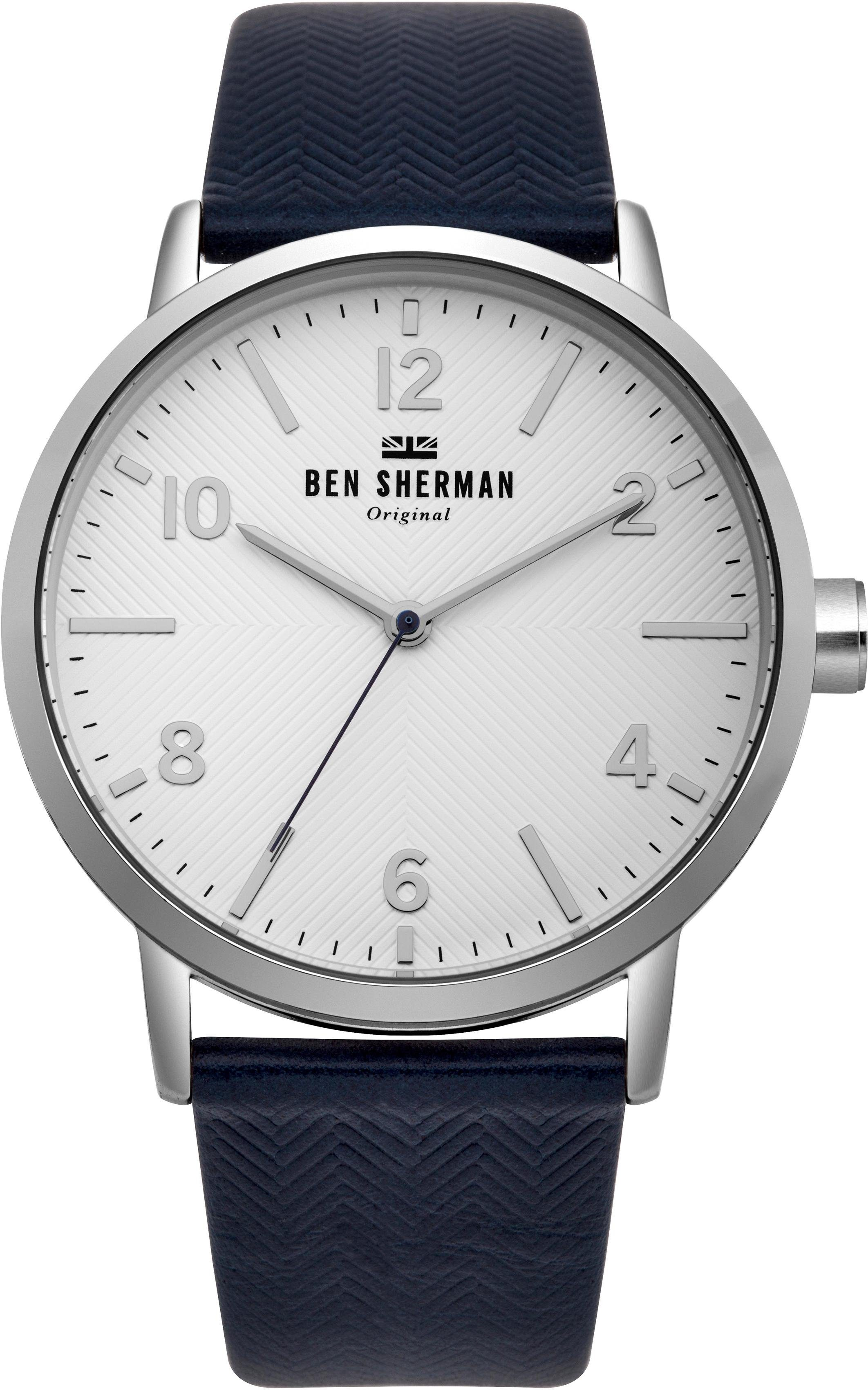 Ben Sherman Quarzuhr »Big Portobello Herringbone, WB070UB«