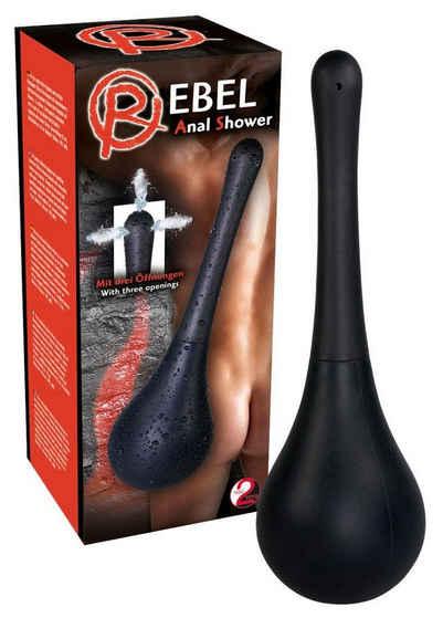 REBEL Analdusche »Shower Black«, mit 3 Spritzlöchern