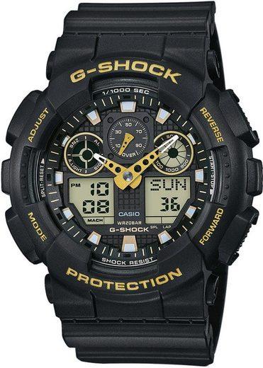 CASIO G-SHOCK Chronograph »GA-100GBX-1A9ER«, antimagnetisch