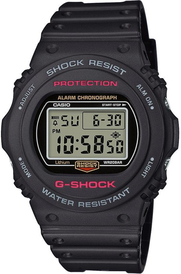 G-Shock Chronograph »DW-5750E-1ER« mit Display Flasher