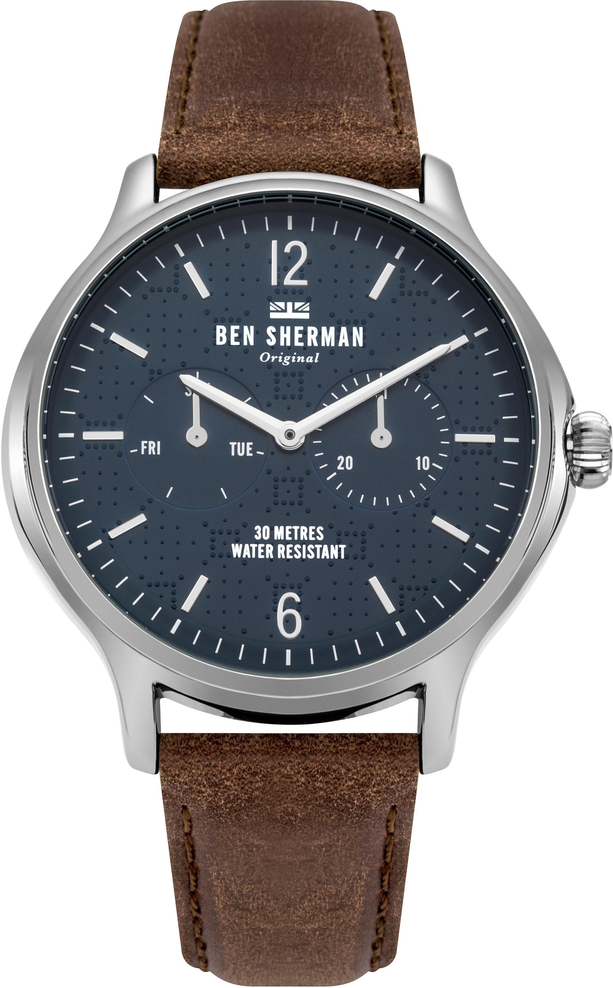 Ben Sherman Multifunktionsuhr »Kensington Professional, WB017UBR«