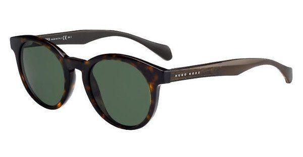 Boss Herren Sonnenbrille » BOSS 0912/N/S«, braun, 086/QT - braun/grün
