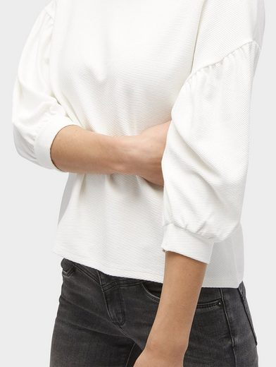Tom Tailor Blusenshirt Shirt mit Ballonärmeln