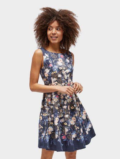Tom Tailor Skaterkleid Kleid mit floralem Muster