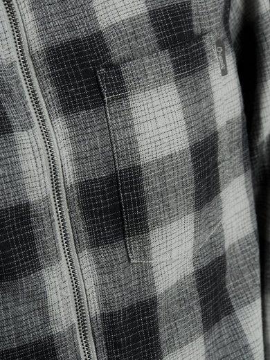 Jack & Jones Kariertes Slim-Fit- Langarmhemd