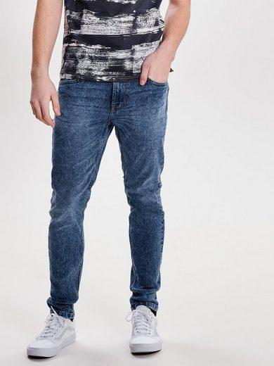 ONLY & SONS Warp med blue Slim Fit Jeans