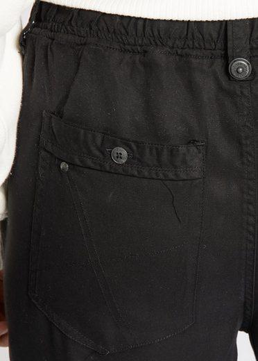 khujo Stoffhose LIEPONA, mit elastischem Bund