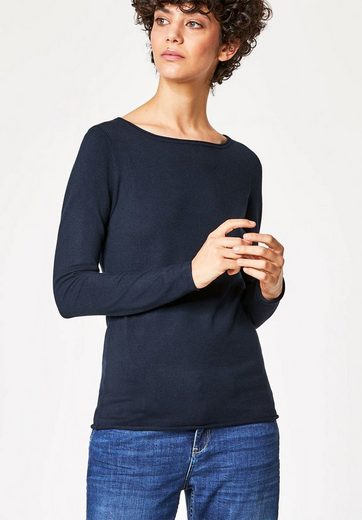 Huber Hall Pullover With Roll Edge