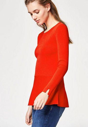HALLHUBER Peplum-Pullover