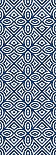 QUEENCE Selbstklebefolie »Muser-Blau«, Tapete 90 x 250 cm Vinylfolie