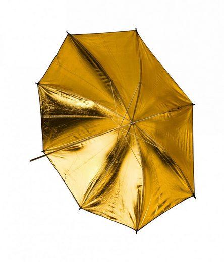 BRESSER Fotostudio »SM-10 Reflexschirm gold/weiß/schwarz 109 cm«