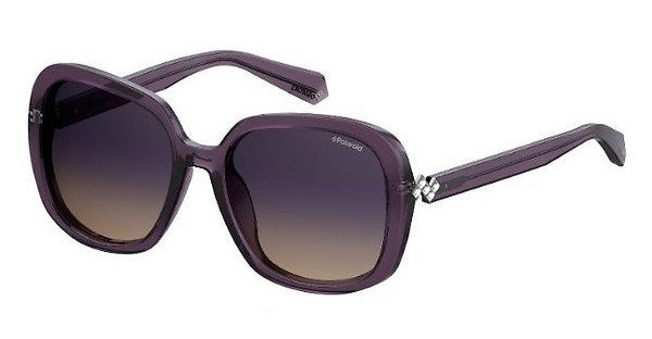 Polaroid Damen Sonnenbrille » PLD 4064/F/S/X«, lila, B3V/Z7 - lila/blau