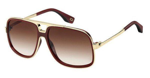 MARC JACOBS Marc Jacobs Damen Sonnenbrille » MARC 265/S«, schwarz, 807/HA - schwarz/braun