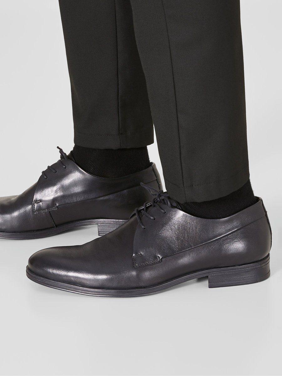 Jack & Jones Leder- Schuhe online kaufen  Anthracite