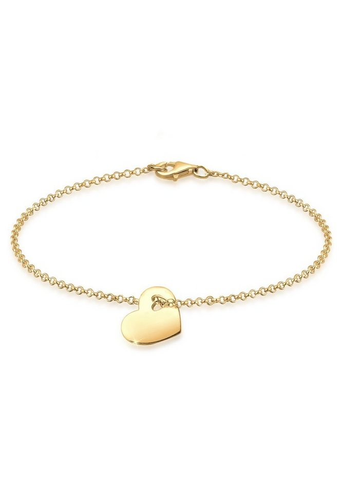 GOLDHIMMEL Armband »Herz vergoldet« | Schmuck > Armbänder | Goldfarben | GOLDHIMMEL
