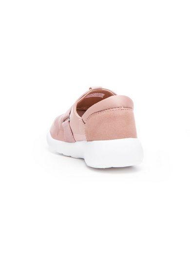 Bianco Schlupf- Sneaker