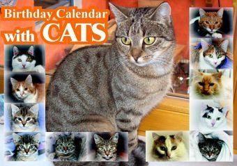 Kalender »Birthday Calendar with CATS«