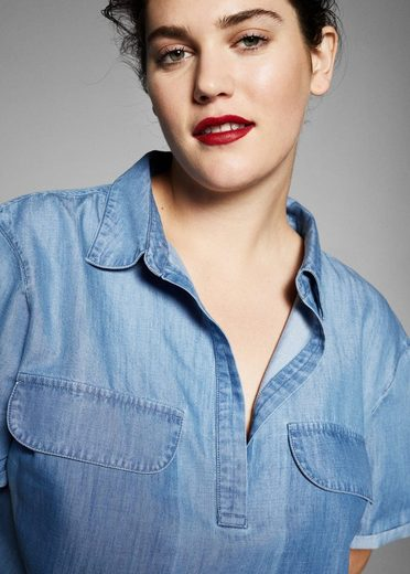 VIOLETA by Mango Jeans-Hemdblusenkleid