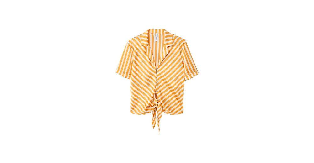 MANGO Fließende Bluse mit Knoten Rabatt Großer Verkauf Neuesten Kollektionen Online h9nr5lM