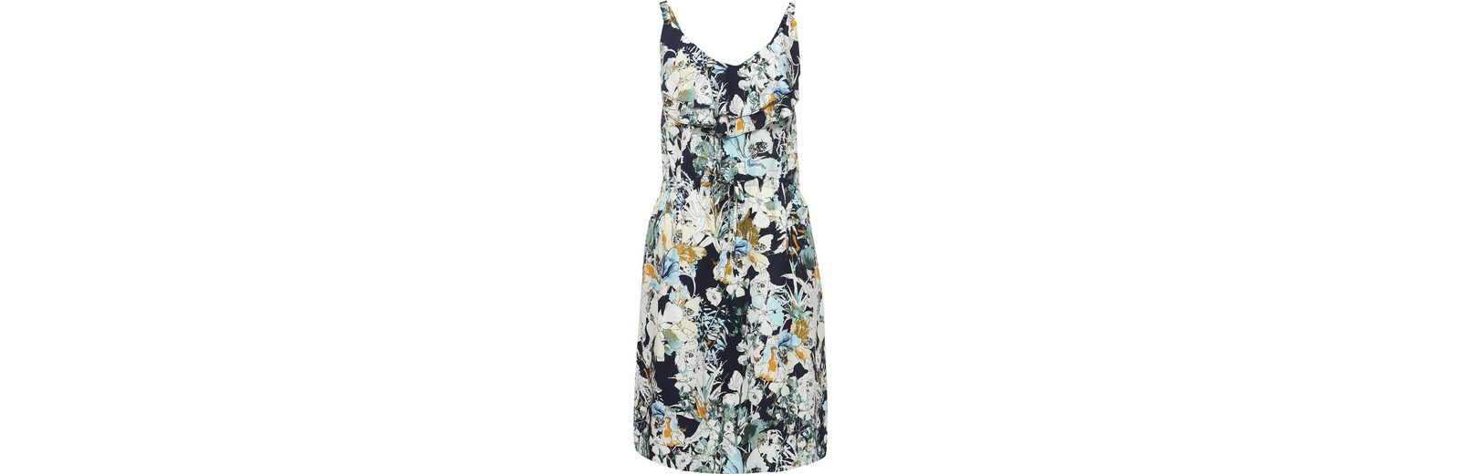 Finn Flare Kleid mit Rüschenausschnitt Billig Rabatt Verkaufskosten BT0Xk6gGb
