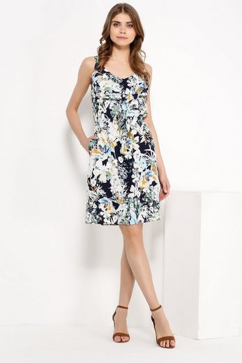 Finn Flare Dress With Frilly Cutout