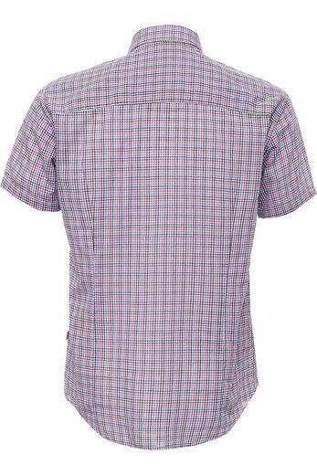 Finn Flare Kurzarmhemd mit modischem Karomuster