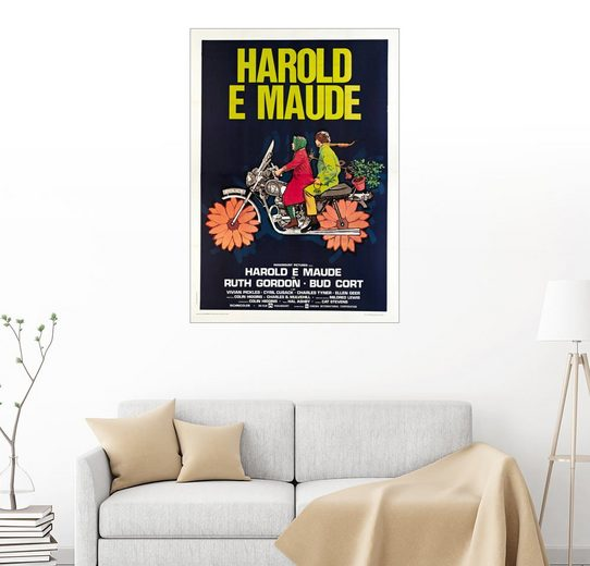 Posterlounge Wandbild »Harold und Maude«