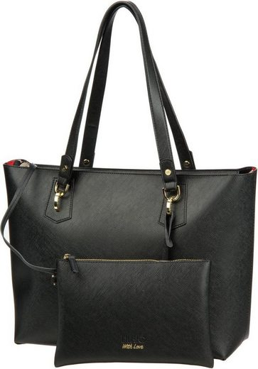 Liu Jo Shopper Hawaii Righe Cuori Tote M
