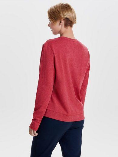Only Bedrucktes Sweatshirt