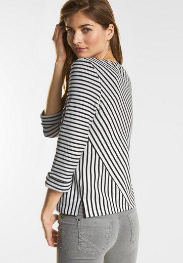 Street One Diagonal Stripe Shirt