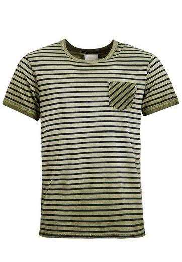 khujo T-Shirt TICK, mit Streifen
