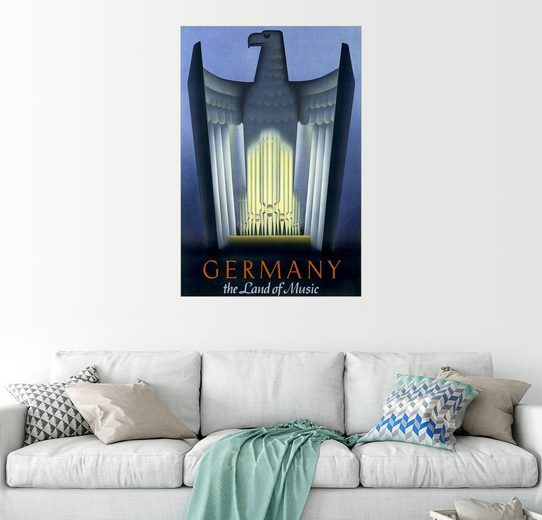 Posterlounge Wandbild »Deutschland, das Land der Musik«