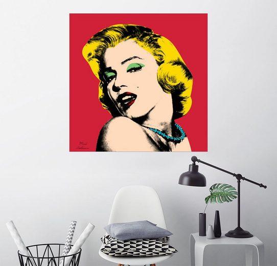 Posterlounge Wandbild - Mark Ashkenazi »Marilyn Monroe«