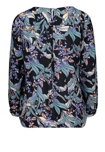 Cartoon Bluse im floralem Allover