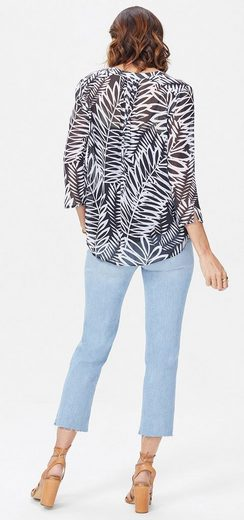 NYDJ Split Neck Blouse