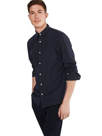 Selected Homme Langarmhemd Shhonetyler Shirt Ls, Knopfleiste