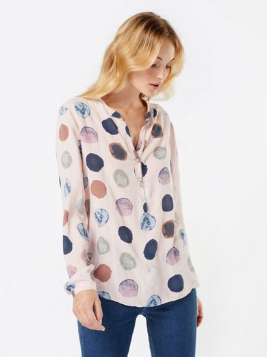 Zwillingsherz Shirtbluse Bigdot