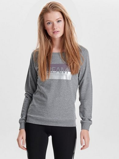 Only Play Bedrucktes Sweatshirt