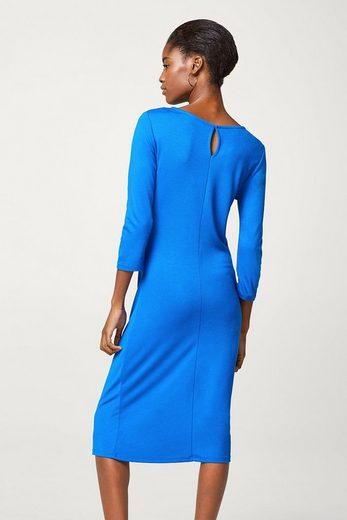 ESPRIT COLLECTION Jersey-Stretch-Kleid mit betonter Taille