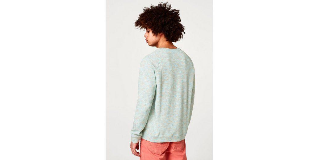 aus Dyed Sweatshirt Space reiner ESPRIT EDC Baumwolle EDC BY BY wq76Hfg