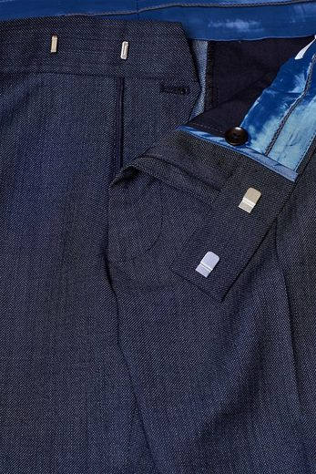ESPRIT COLLECTION ACTIVE SUIT Strukturierte Anzughose aus Woll-Mix