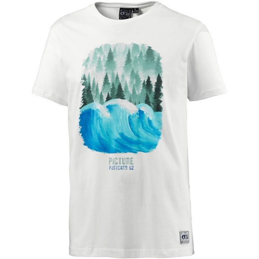 Picture T-Shirt POSTCARD WAVE