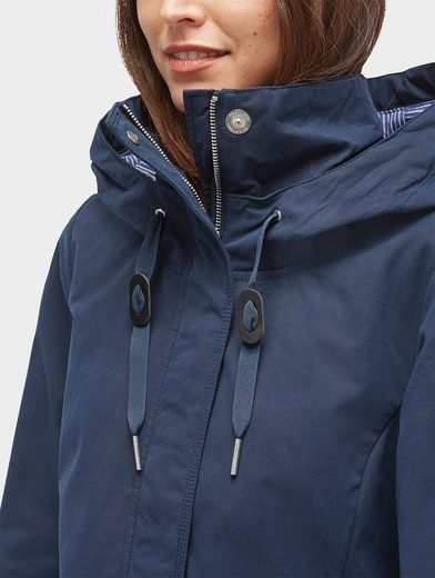 Tom Tailor Hooded Parka Short Parka With Pockets And