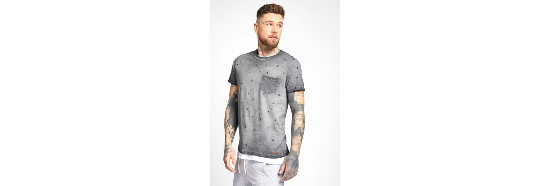 khujo T-Shirt TORRE, mit Stickerei