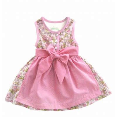 Mogo Dirndl »Baby Dirndl von Mogo, Farbe rose/altrose, aus Baumwolljersey, bequeme Passform«