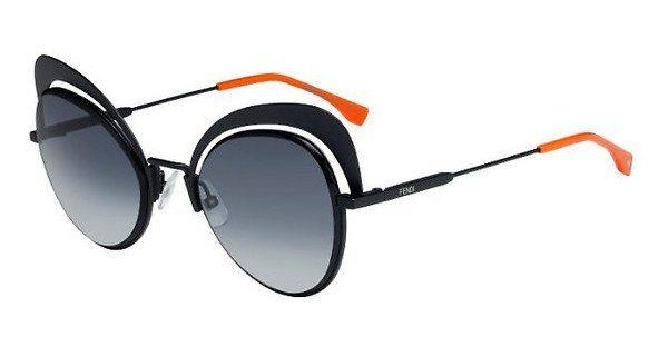 FENDI Fendi Damen Sonnenbrille » FF 0247/S«, schwarz, 807/9O - schwarz/grau